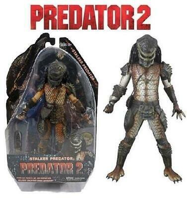 Action Figure Predador Predator: Predator 2 Predator 2 - Stalker Predator Escala 1/18 - Neca - EV