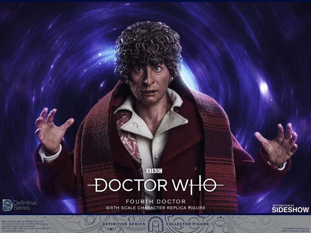 PRÉ VENDA Action Figure Quarto Doutor (Fourth Doctor): Doctor Who (Escala 1/6) - BIG Chief Studio