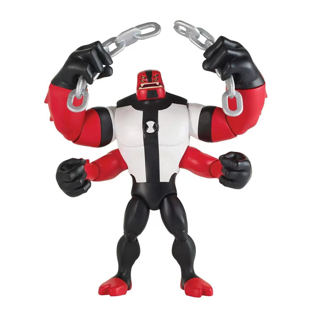 Action Figure Quatro Braços Four Arms: Ben 10 - Sunny