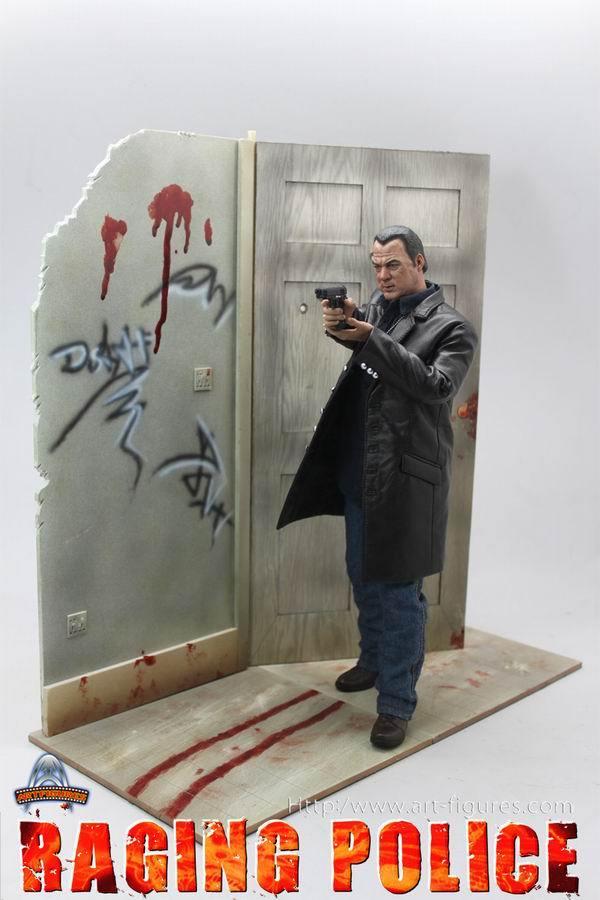 Action Figure Steven Seagal Raging Police: Escala 1/6 AF-008 - Art Figures