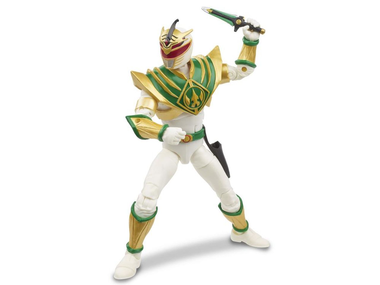 Action Figure Ranger Branco (Mighty Morphin Lord Drakkon): Power Rangers (Lightning Collection) - Hasbro