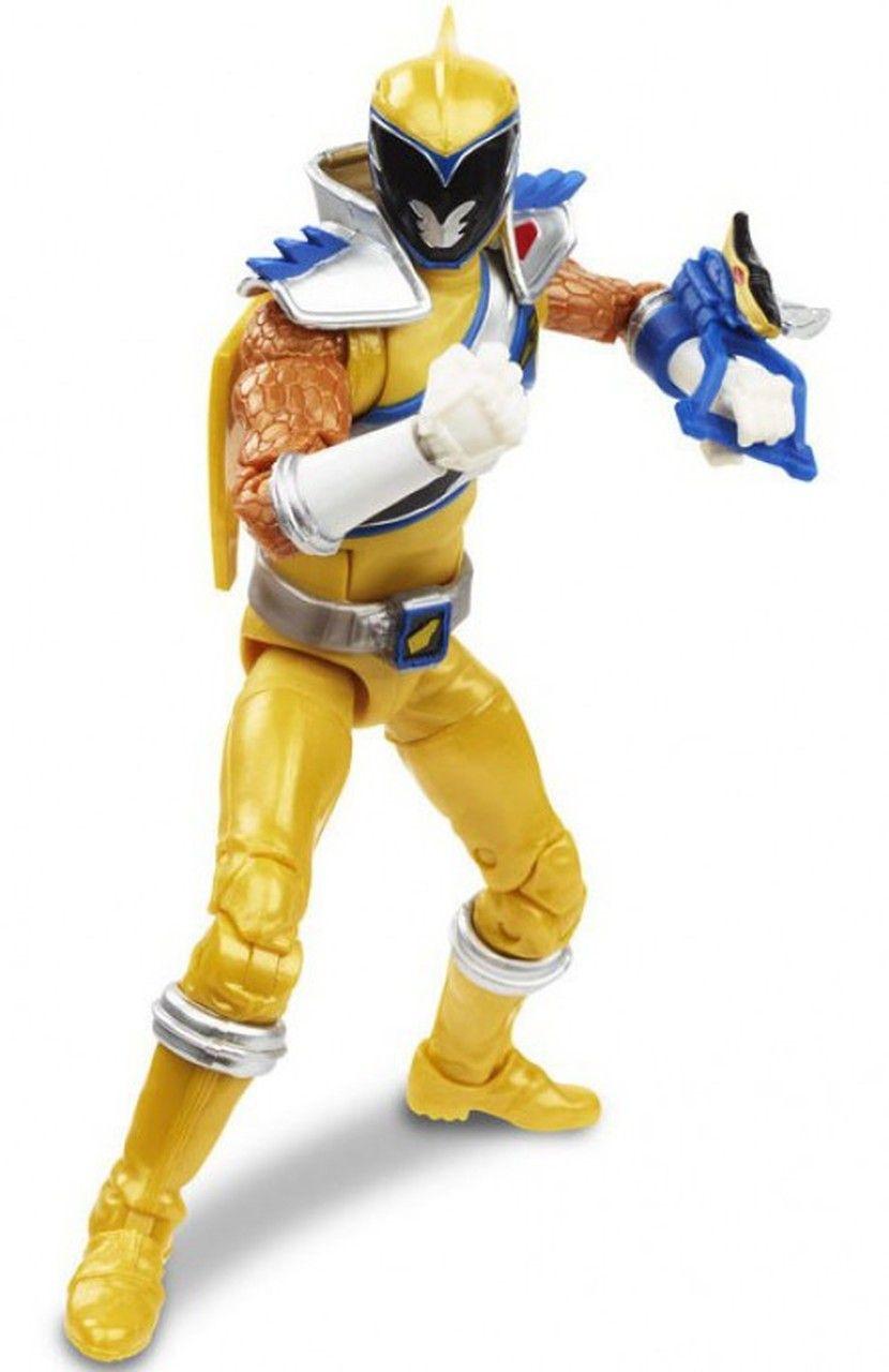 Action Figure Ranger Dourado (Dino Charge Gold): Power Rangers (Lightning Collection) - Hasbro