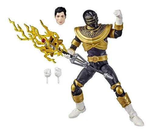 Action Figure Ranger Gold (Zeo Gold): Power Rangers (Lightning Collection) - Hasbro