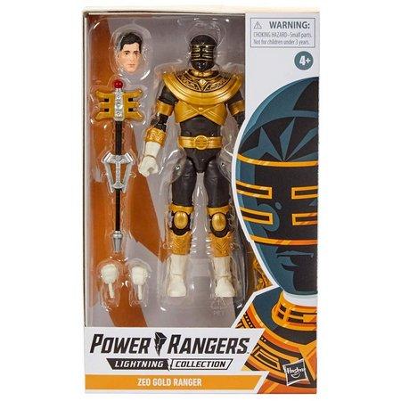 Action Figure Ranger Gold (Zeo Gold): Power Rangers (Lightning Collection) - Hasbro