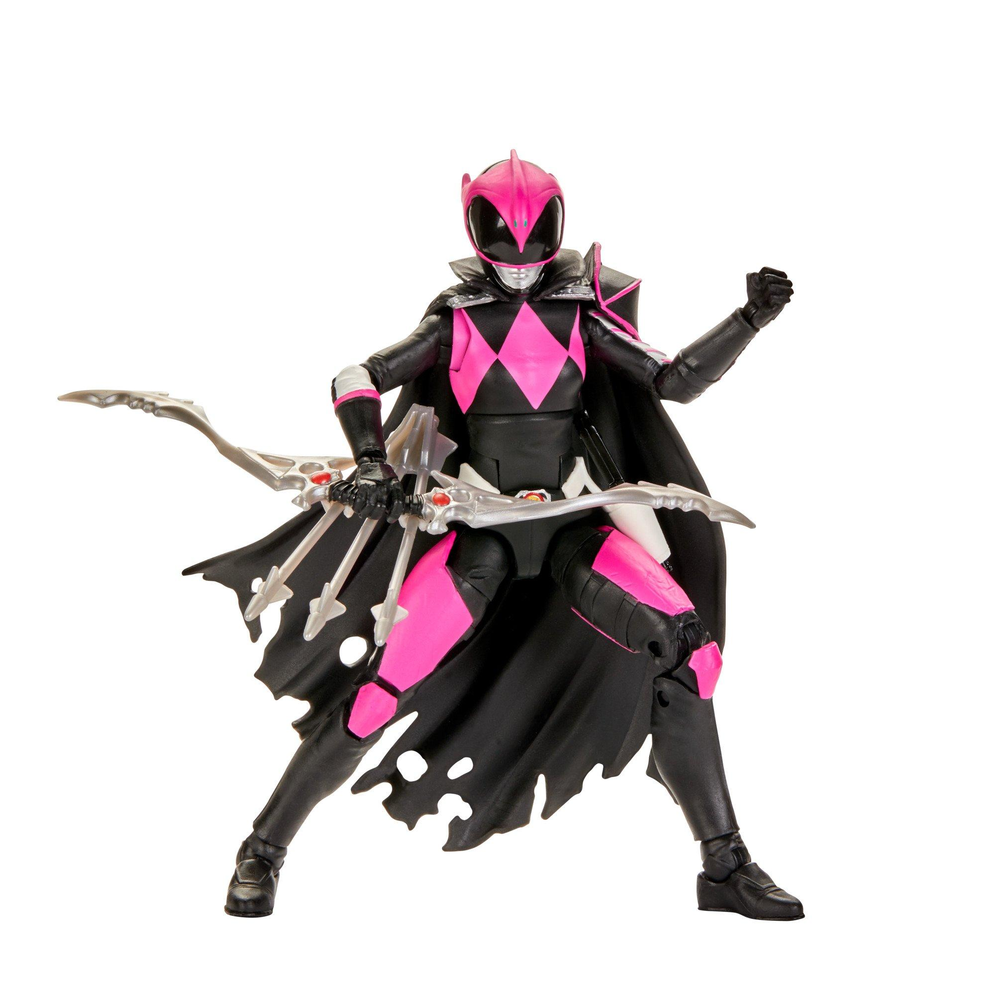 Action Figure Ranger Rosa (Mighty Morphin Ranger Slayer): Power Rangers (Lightning Collection) - Hasbro