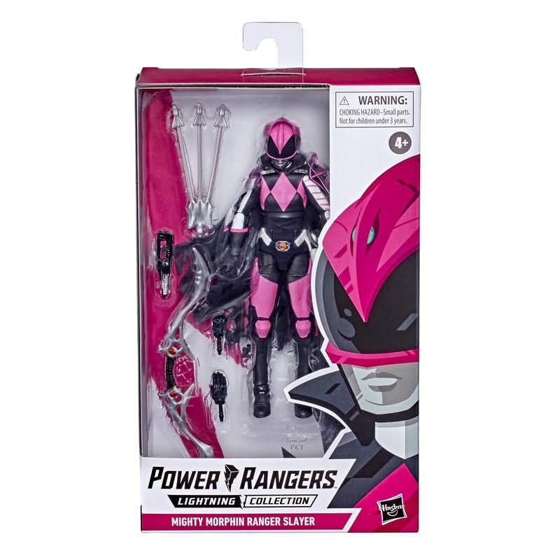 Action Figure Ranger Rosa (Mighty Morphin Ranger Slayer): Power Rangers (Lightning Collection) - Hasbro