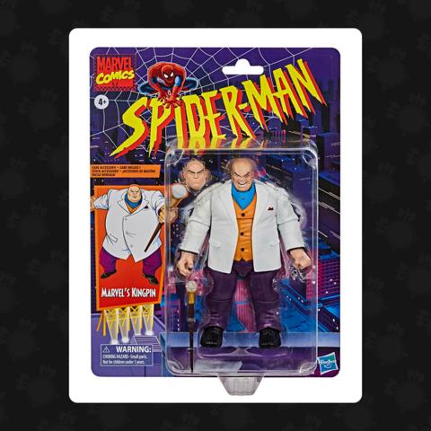 Action Figure Rei do Crime (Kingpin): Homem Aranha Spider-Man Marvel Comics - Hasbro
