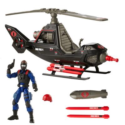 Action Figure Retro Veiculo Piloto Inimigo (Cobra F.A.N.G.): G.I Joe - Hasbro