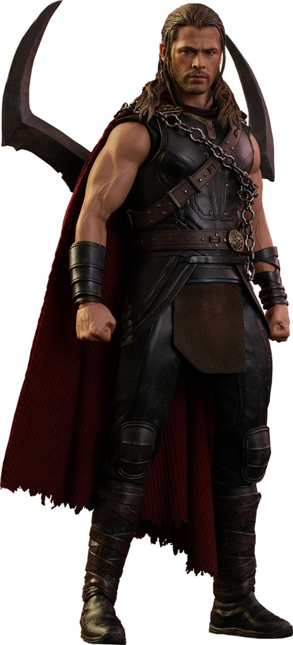 Action Figure Roadworn Thor: Thor Ragnarok (Escala 1/6) MMS416 - Hot Toys