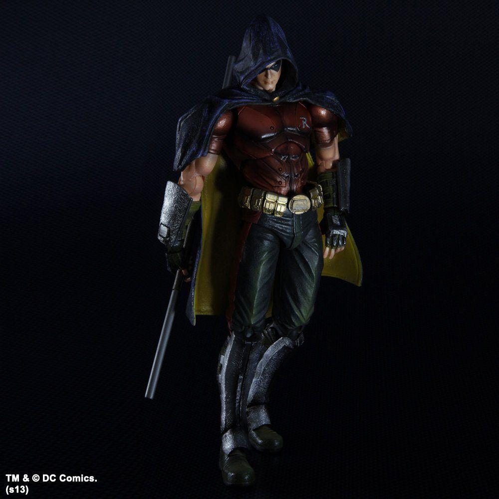 Action Figure Robin: Batman Arkham City (Boneco Colecionável) - Play Arts Kai Square Enix