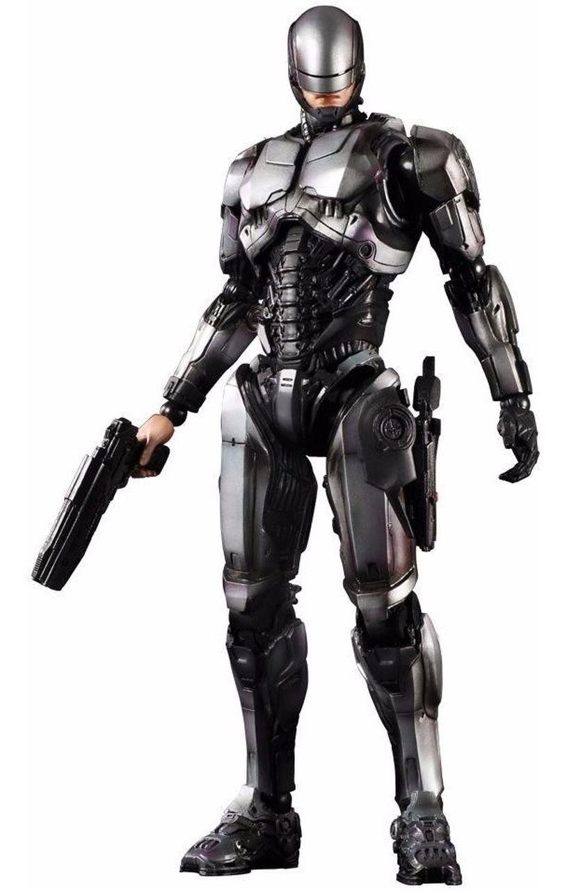 Action Figure RoboCop 1.0: RoboCop (Boneco Colecionável) - Play Arts Kai