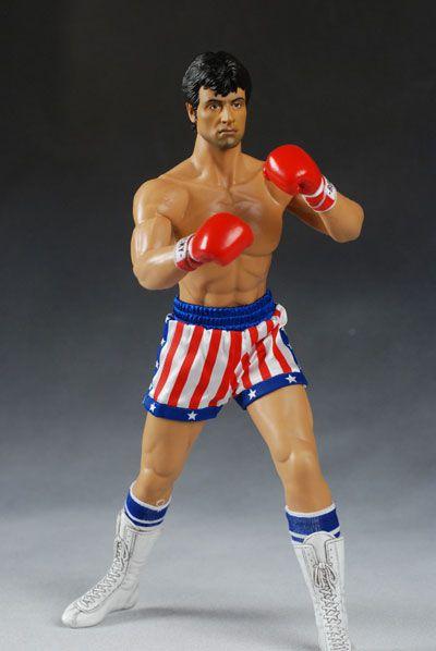 Action Figure Rocky Balboa: Rock IV (MMS19) Escala 1/6 (Boneco Colecionável) - Hot Toys