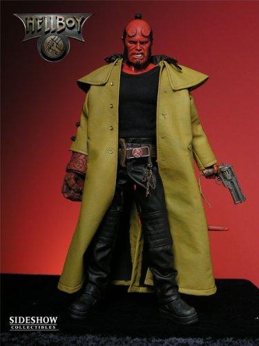 Action Figure Ron Perlman  as Hellboy: Hellboy Escala 1/6 - Revolution Studios