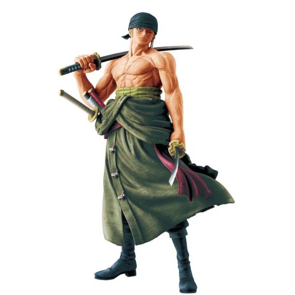 Action Figure Roronoa Zoro (Masterlise Memorial): One Piece (Boneco Colecionável) - Banpresto