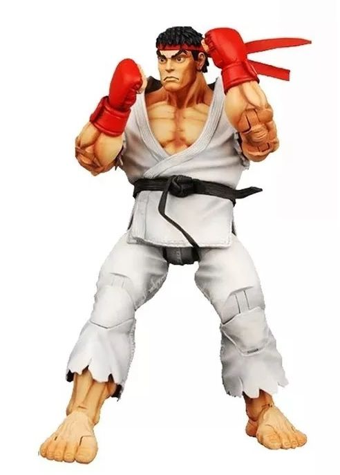 Action Figure Ryu (Player Select): Street Fighter IV - NECA