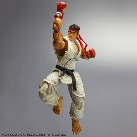 Action Figure Ryu: Street Fighter IV Arcade Edition - Play Arts Kai