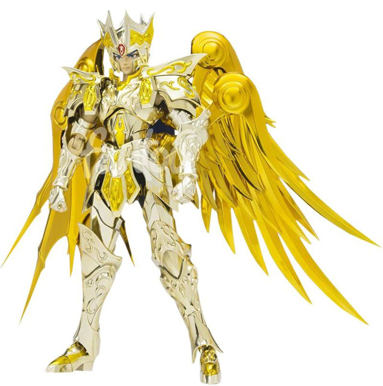 Action Figure Saga de Gêmeos (Gemini Saga) God Cloth: Os Cavaleiros do Zodíaco Saint Cloth Myth EX Soul Of Gold - Bandai
