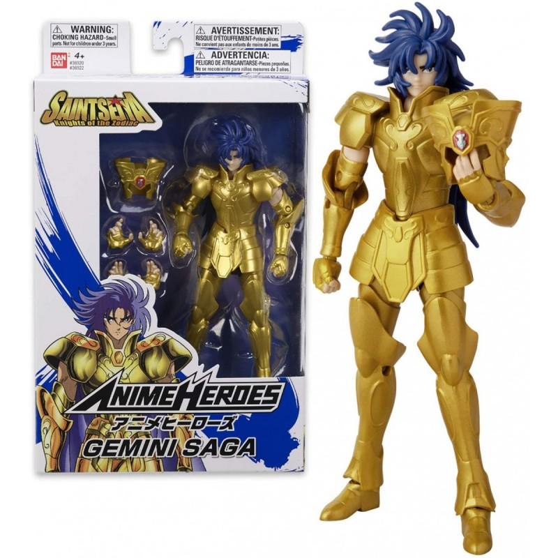 Action Figure Saga de Gemios: Os Cavaleiros dos Zodíaco (Anime Heroes) Boneco Colecionável - Bandai