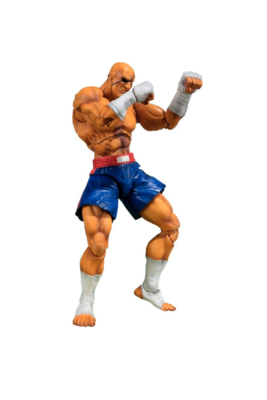 Action Figure Sagat: Street Fighter S.H.Figuarts - Bandai