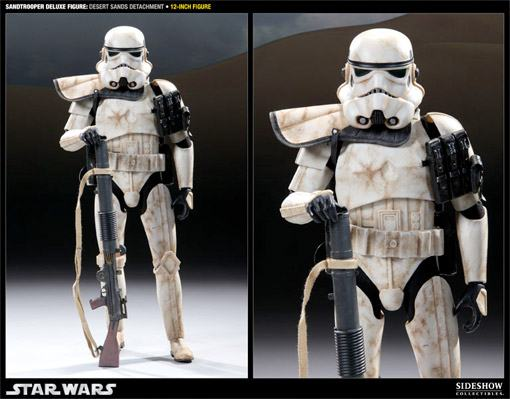 Action Figure Sandtrooper Desert Sands Detachment: Militaries Of Star Wars Escala 1/6 - Sideshow Collectibles