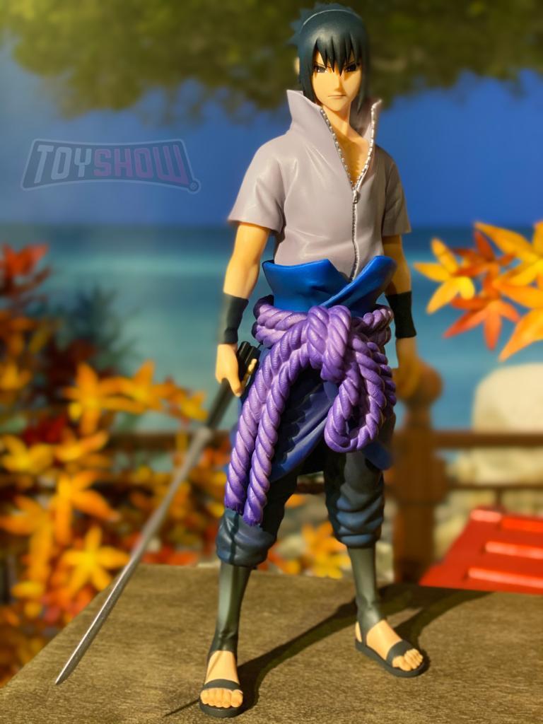 Estátua Figure Sasuke Uchiha: Naruto Shippuden (Grandista) Anime Mangá - Banpresto Bandai