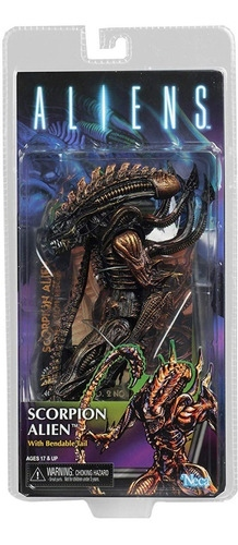 Action Figure Scorpion Alien: Aliens Escala 1/10 - Neca