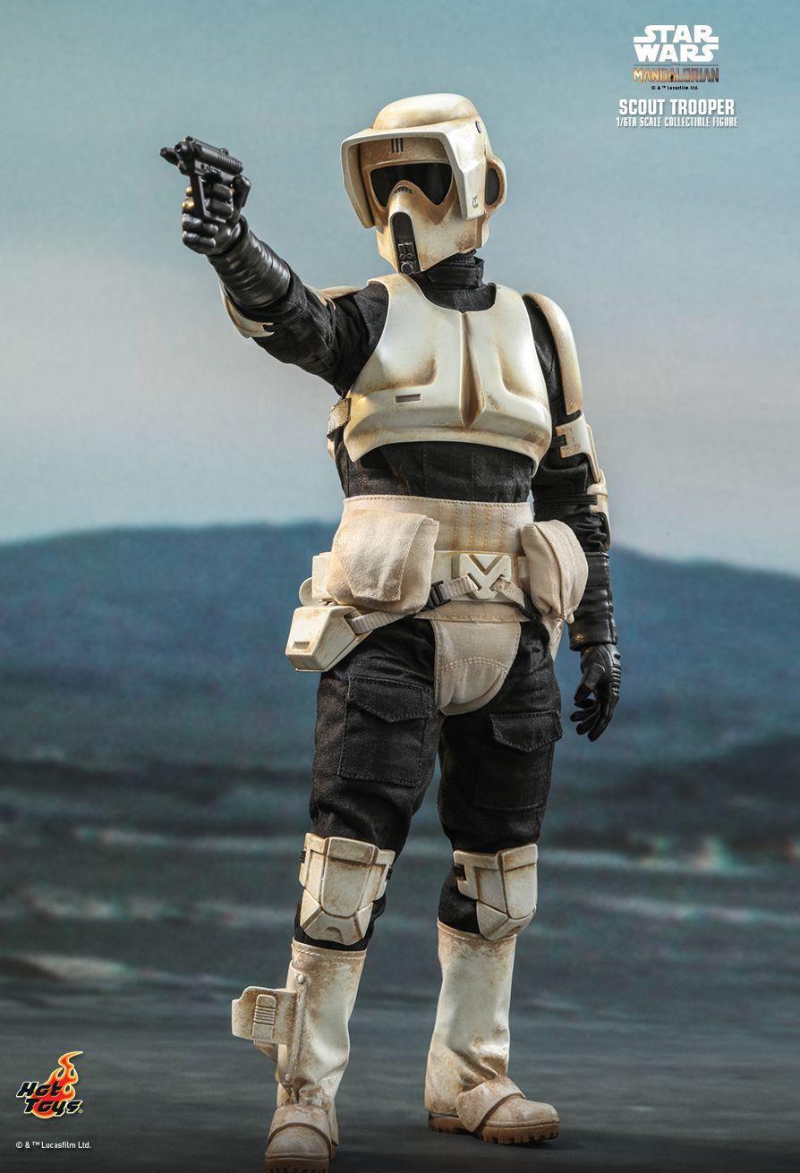 PRÉ VENDA: Action Figure Scout Trooper: O Mandaloriano (The Mandalorian) Star Wars (TMS016) Escala 1/6 - Hot Toys