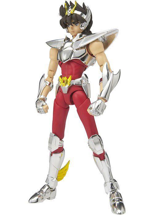 Action Figure Seiya de Pegasus (Pegasus Seiya): Os Cavaleiros do Zodíaco (Saint Seiya) Cloth Myth EX - Boneco Colecionável - Bandai