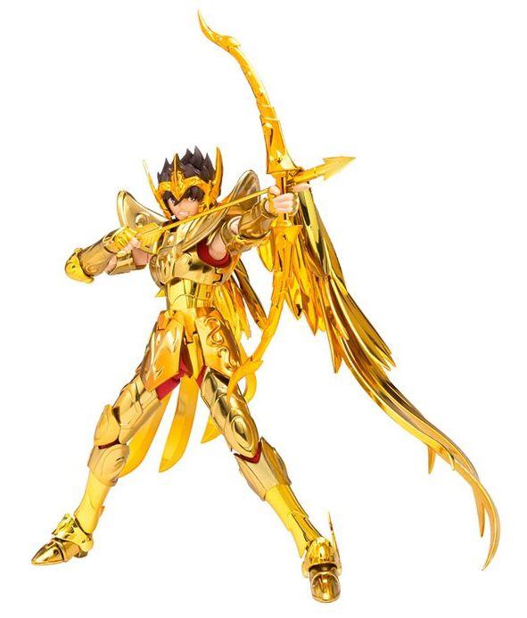 Action Figure Seiya de Sagitário (Sagittarius Seiya): Os Cavaleiros do Zodíaco (Saint Seiya) Cloth Myth EX - Bandai