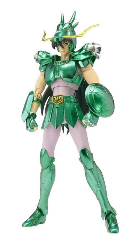 Action Figure Shiryu (Dragon Shiryu):Os Cavaleiros do Zodíaco Saint Seiya Saint Cloth Myth:Revival Version - Bandai
