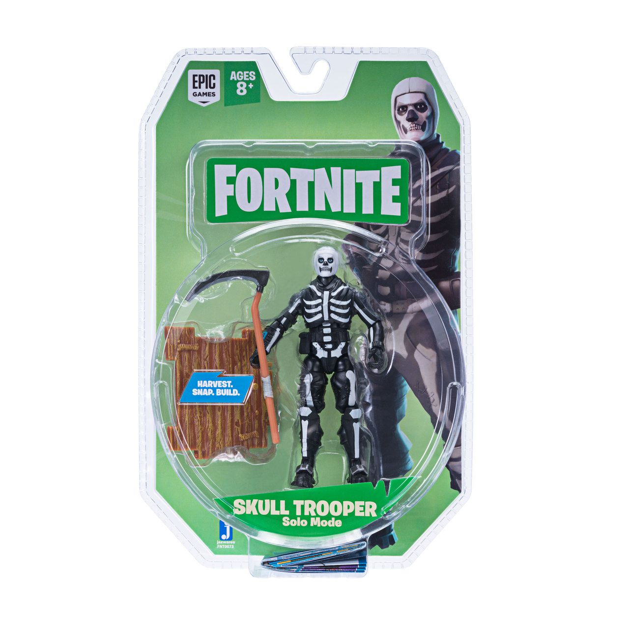 Action Figure Skull Trooper (Solo Mode Core): Fortnite - Jazwares