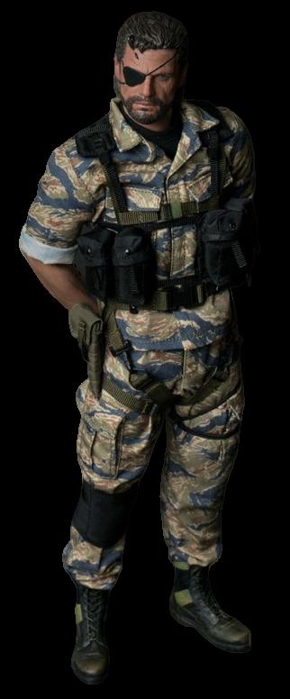 Action Figure Snake (Camuflado): Metal Gear Solid V (Escala 1/6) - WJL Toys