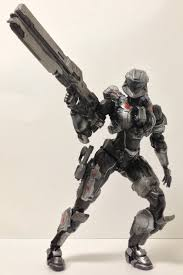 Action Figure Spartan Sarah Palmer No.03: Halo 4 - Play Arts Kai