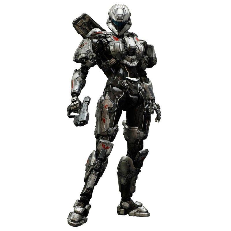 Action Figure Spartan Sarah Palmer No.03: Halo 4 - Play Arts Kai