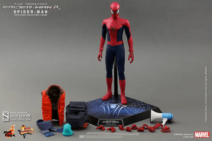 Action Figure Spider - Man: The Amazing Spider-Man 2 MMS 244 Escala 1/6 - Hot Toys
