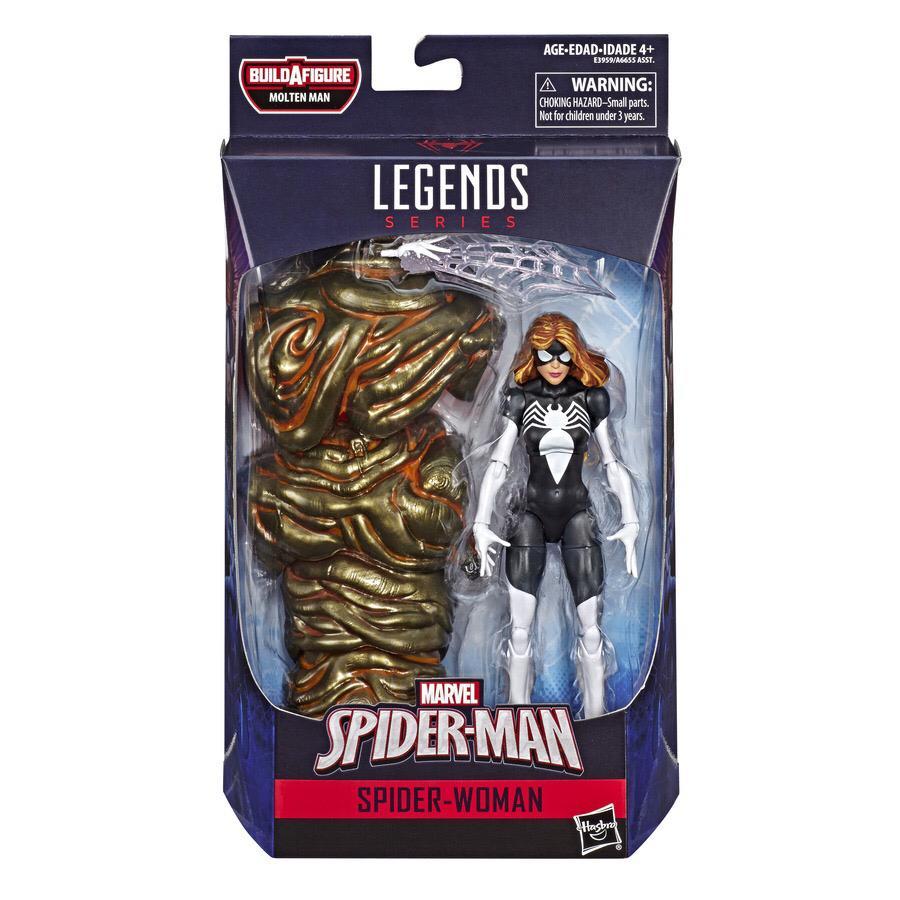 Action Figure Spider-Woman: Homem-Aranha (Spider-Man) Marvel Legends - Hasbro