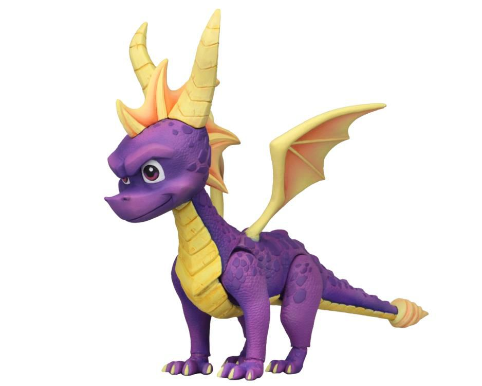 Action Figure Spyro: Spyro the Dragon (Boneco Colecionável) - Neca
