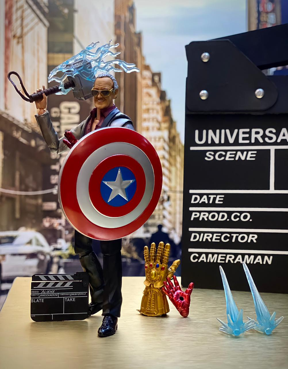 Action Figure Stan Lee Vingadores Ultimato Avengers Endgame Marvel Comics - EV