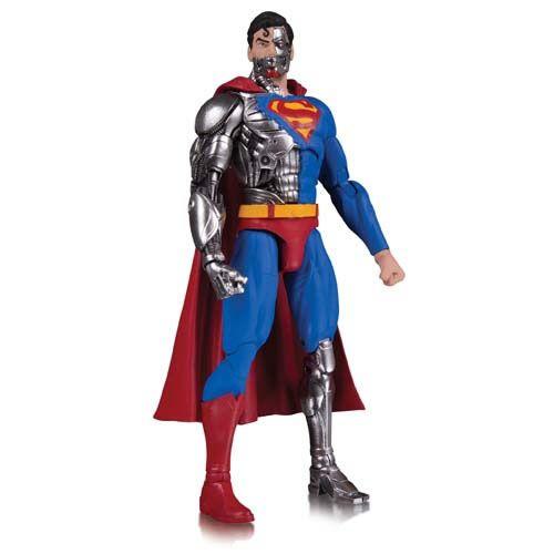 Action Figure Super-Homem (Superman Cyborg): DC Essentials - Boneco Colecionável - DC Collectibles (Apenas Venda Online)  - Toyshow Geek e Colecionáveis Tudo em Marvel DC Netflix Vídeo Games