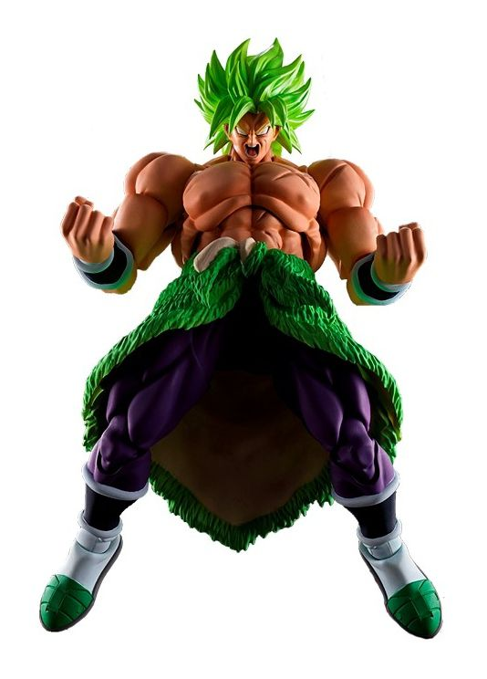 Action Figure Super Saiyan Broly (FullPower): Dragon Ball Z (S.H.Figuarts) Boneco Colecionável - Bandai