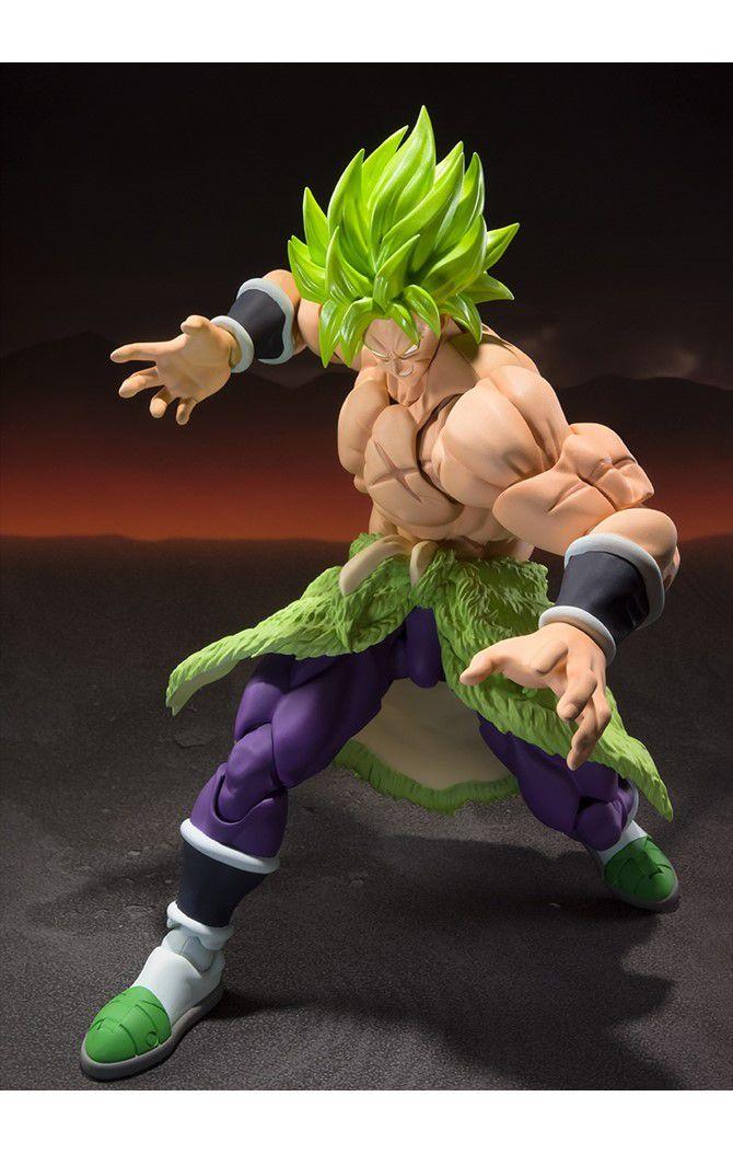 Action Figure Super Saiyan Broly (FullPower): Dragon Ball Z (S.H.Figuarts) Boneco Colecionável - Bandai