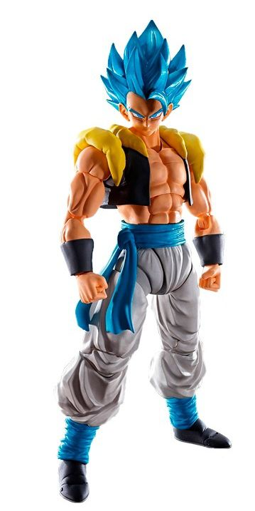 Action Figure Super Saiyan God Gogeta: Dragon Ball Z (S.H.Figuarts) Boneco Colecionável - Bandai