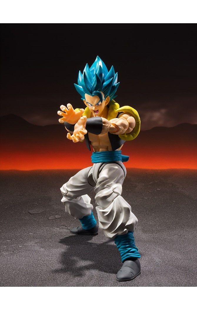 Action Figure Super Saiyan God Gogeta: Dragon Ball Z (S.H.Figuarts) Boneco Colecionável - Bandai