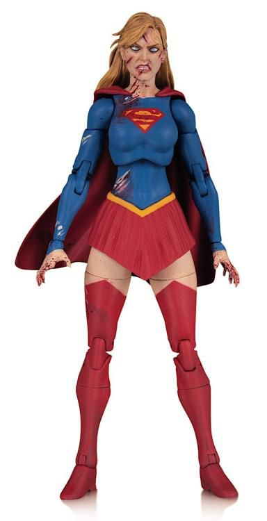 "PRÉ VENDA: Action Figure Supergirl (DCeased) 7"" DC Essentials - DC Collectibles"