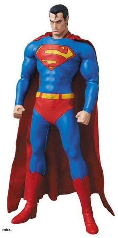 Action Figure Superman: Batman - Silêncio (Hush) No.647 - RAH (Real Action Heroes) Boneco Colecionável - Medicom (Apenas Venda Online)