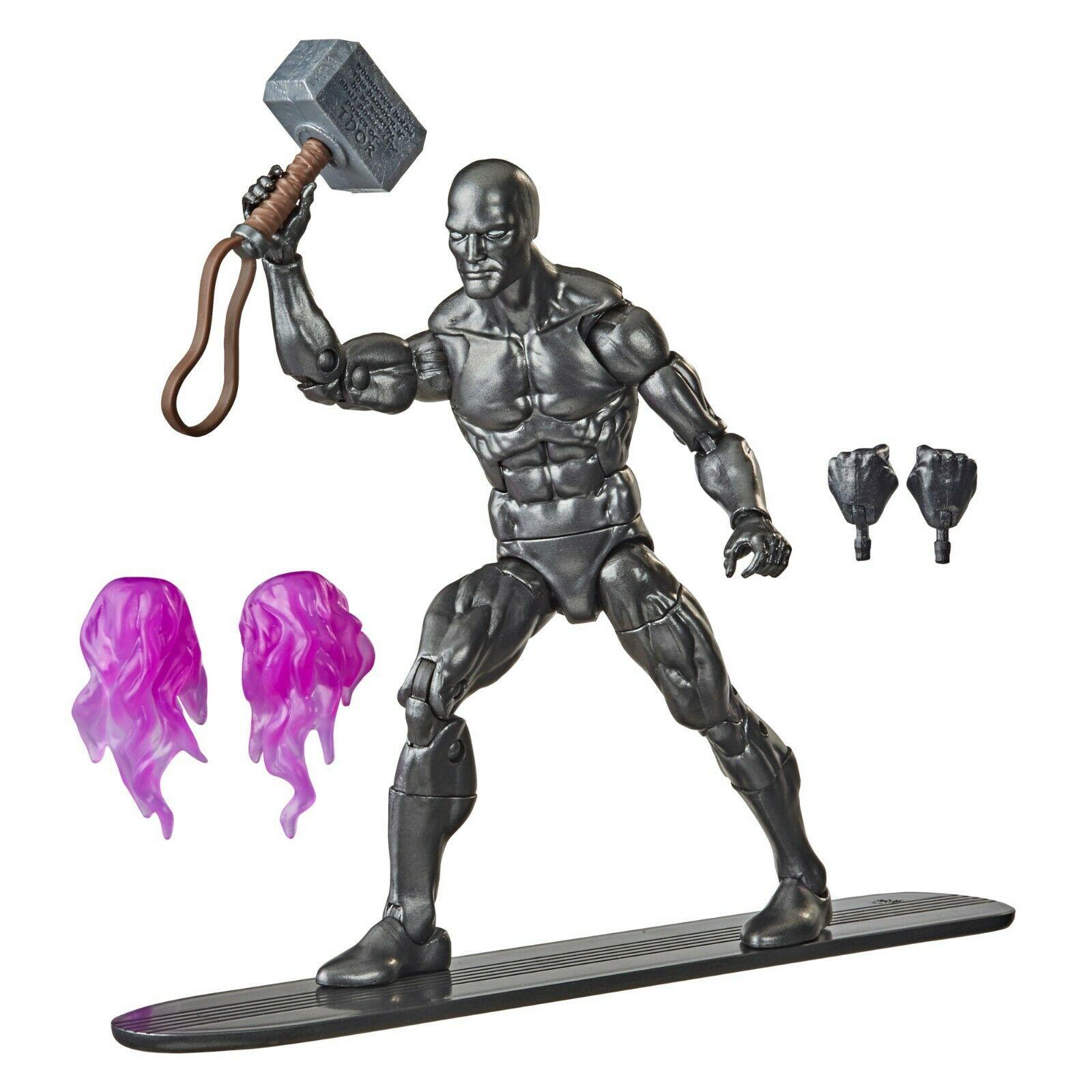 Action Figure Surfista Prateado (Silver Surfer) Obsidian Surfer: Marvel Legends Series - Hasbro