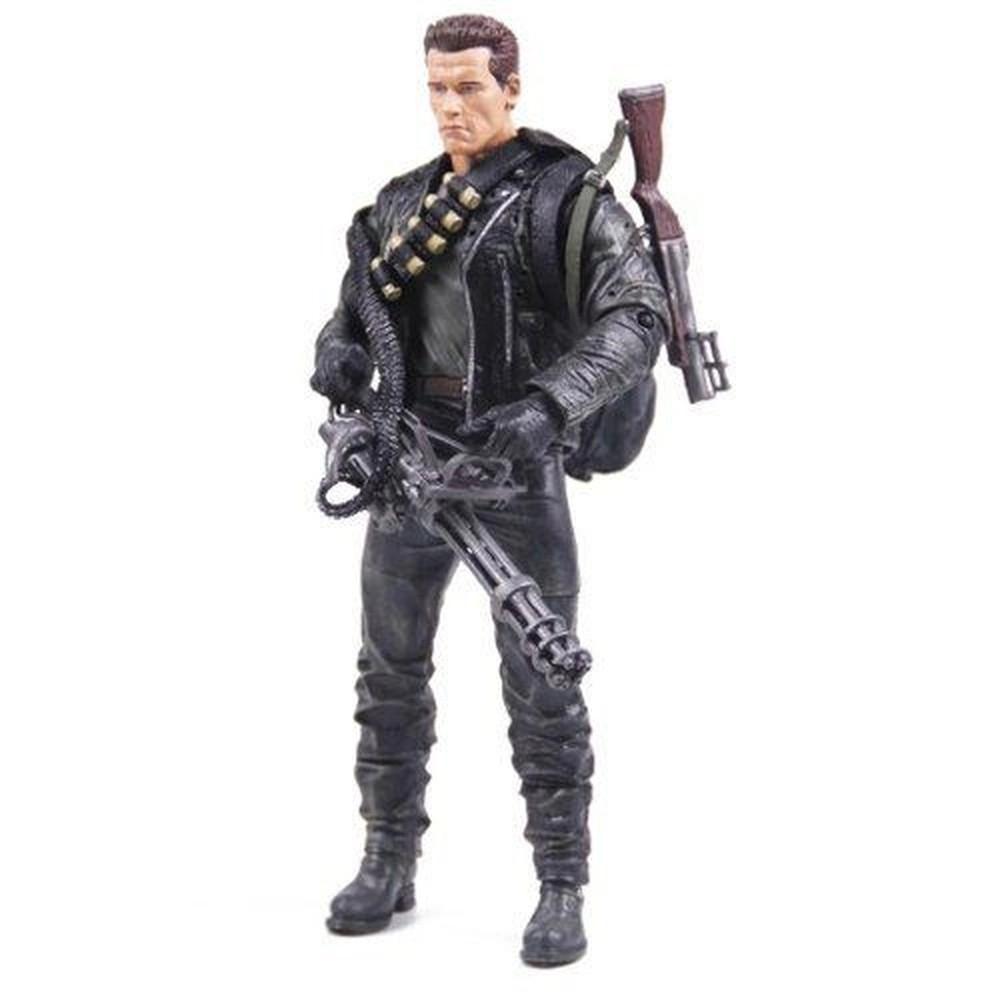 Action Figure T-800 Cyberdyne Showdown: O Exterminador do Futuro 2: O Julgamento Final Terminator 2 Judgment Day - Neca