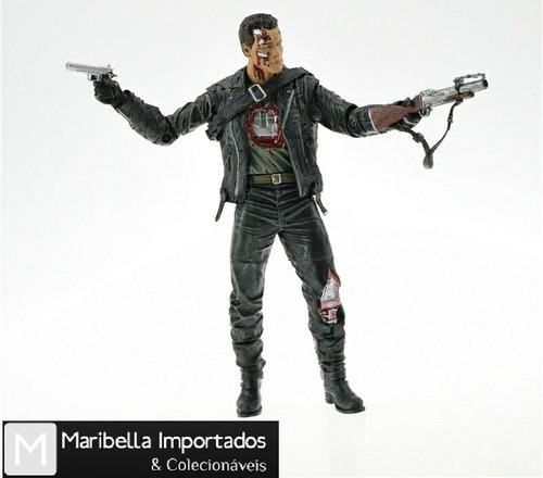 Action Figure T- 800 Steel Mill: O Exterminador do Futuro 2: O O Julgamento Final Terminator 2 Judgment Day - Neca