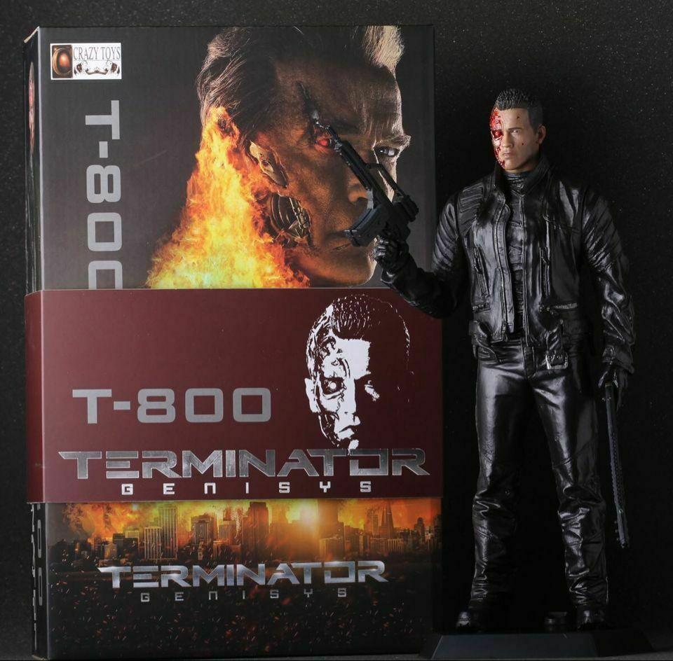 Action Figure T-800: Terminator Genisys Escala 1/6 - Crazy Toys