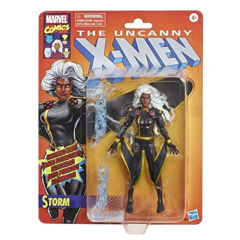Action Figure Tempestade (Storm): The Uncanny X-Men Marvel Legends (Clássico) E9660  - Hasbro